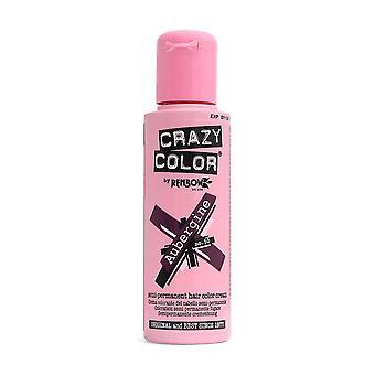 Renbow Crazy Color No.50 Aubergine Semi-Permanent Cream 100ml