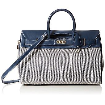 Mac Douglas Pyla Fantasia S-blauw dames handtassen (Rouge Chevron Bleu) 1750x26x4050 cm (b x H L)