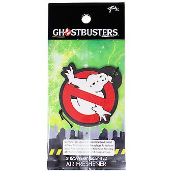 Ghostbusters Logo Strawberry Air Freshener