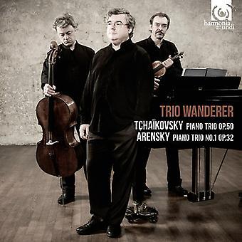 P.I. Tchaikovsky - Tchaikovsky: Piano Trio, Op. 50; Arensky: Piano Trio No. 1, Op. 32 [CD] USA import
