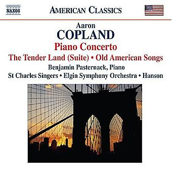 A. Copland - Copland: Piano Concerto; the Tender Land (Suite); Old American Songs [CD] USA import