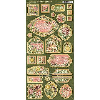 Grafik 45 Garten Göttin Spanplatten