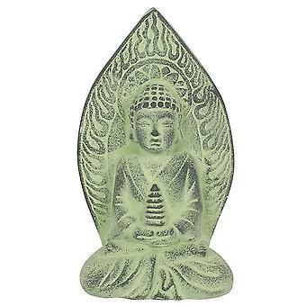 Noget forskellige grønne Terracotta Buddha plak
