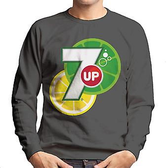7up Citrus Logo Men's Sweatshirt 7up Citrus Logo Men 's Sweatshirt