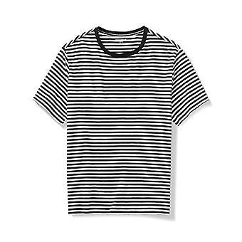 Essentials Men's Big & Tall Short-Sleeve Stripe Crew T-Shirt fit by DXL
