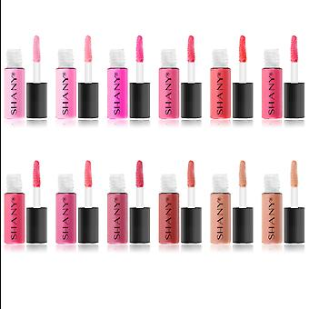 SHANY All That She Wants - Set of 12 Matte, Pearl, and Shimmer Mini Lipgloss Set