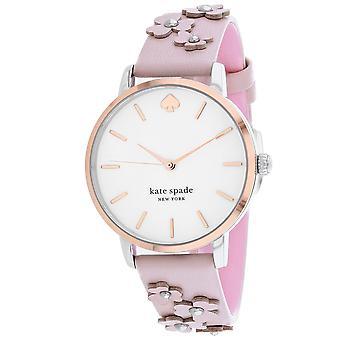 195, Kate Spade Femmes 's KSW1513 Quartz Pink Watch