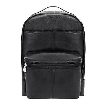 """88555, S Series Parker 15"""" Leather Dual Compartment Laptop Backpack"""