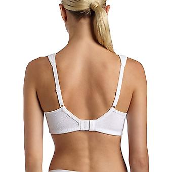 Playtex Women's 18 Hour Side and Back Smoothing Wirefree Bra, White,46DD