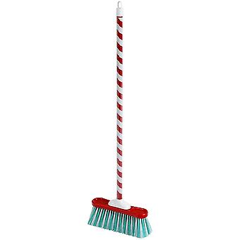 Theo Klein Classic Candy Cane Broom For Ages 3+ and Above