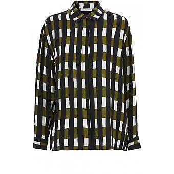 Masai Vaatteet Ibilla Tarkista Print Shirt