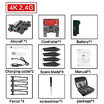"S177 מזל""ט 4k GPS 5g Wifi Hd זווית רחבה מצלמה כפולה Quadcopter"