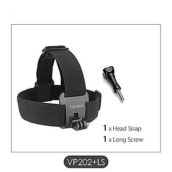 Head Belt Strap Mount Adjustable For Gopro