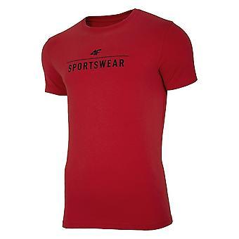 4F JTSM005 NOSH4TSM00562S universelle Sommer Herren T-shirt