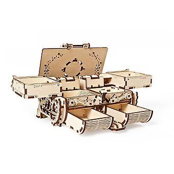 Model Antique Box UGears 3D Wooden Model Kit