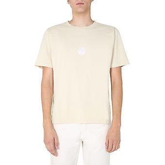 Nigel Cabourn Ncosj50natural Men's Beige Cotton T-shirt