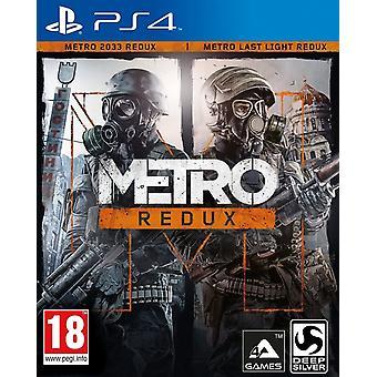 Metro Redux PS4 spel