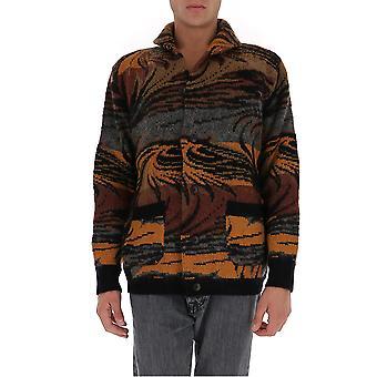 Missoni Mum00131bk00pls00g3 Men's Multicolor Wool Outerwear Jacket