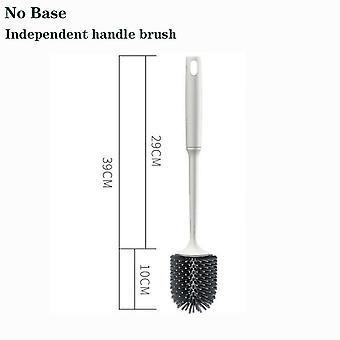 Rubber Head Frame Cleaning Brush For Bathroom Wall-mounted Household Floor Cleaning Bathroom Accessories