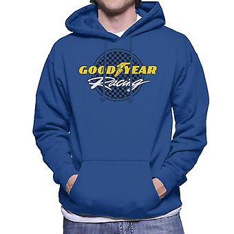 Goodyear Racing Logo Män's Hooded Tröja