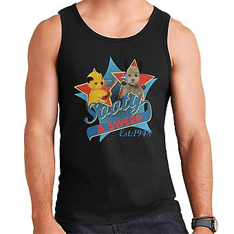 Sooty & Sweep Retro Water Sproeier Men's Vest