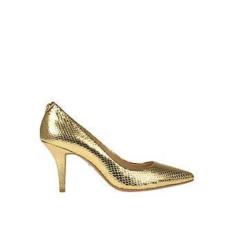 Michael Von Michael Kors Ezgl001199 Frauen's Gold Leder Pumps