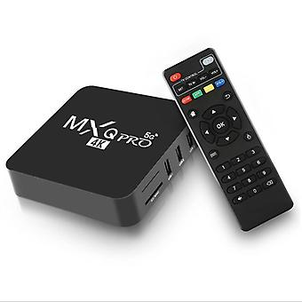 5g Dual Band Network Set-top Box With Remote Control And Hdmi Cable