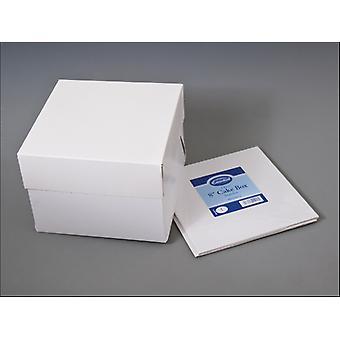 Essential Stapleless Cake Box + Lid 8in CBOX8