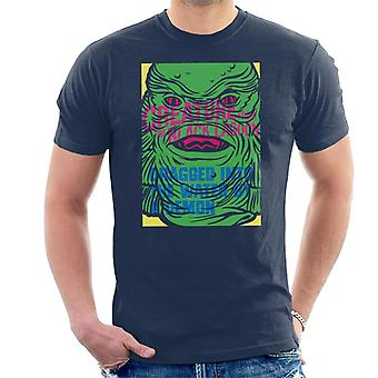 The Creature From The Black Lagoon Demon Water Head Men's T-Shirt
