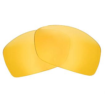 Replacement Lenses for Oakley Hijinx Sunglasses Anti-Scratch Yellow