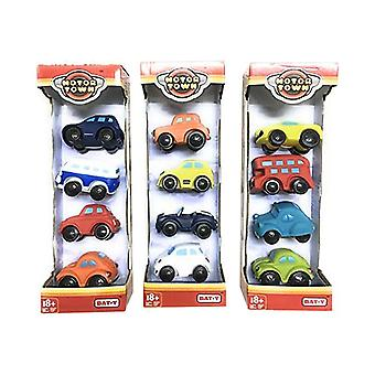 Vehicle Playset Motor Town Color Baby (4 pcs)