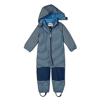 Boys Softshell Jumpsuit, Overalls With Fleece Lining, Windproof & Waterproof