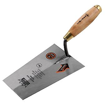 Gauging Trowel Square Edged Tip With Wood Handle For Hand Tools Industrial