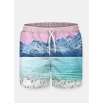 Pink sky 2 shorts