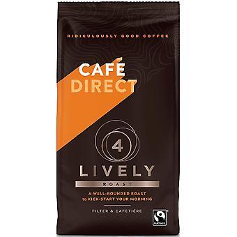 Cafedirect Fairtrade (FCR0019N) Café tostado animado 6 x 227g