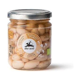 Organic boiled cannellini beans None
