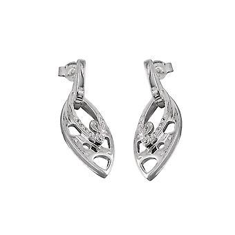 Stud Earrings Zirconia Silver 925