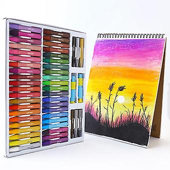 Artist School Students Drawing Creative Paintingset Colors Crayons Pen Oil