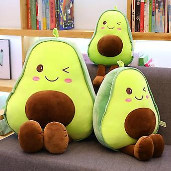 Avocado Plüsch süße Avocado Kissen Kissen Obst gefüllte Puppe für werfen Geburtstag