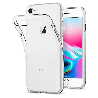 Funda para iPhone Se (2020) / IPhone 8 / IPhone 7 en silicona transparente, cristal líquido