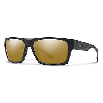 Smith Outlier 2 124/QE Matte Black-Silver/Brown Mirror Gafas de sol