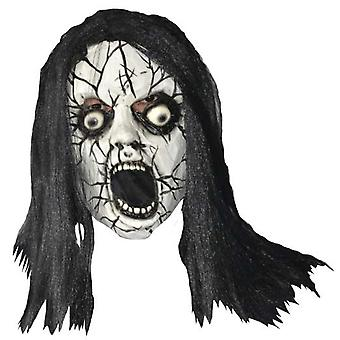Face Mask Horror Lady Unisex One Size