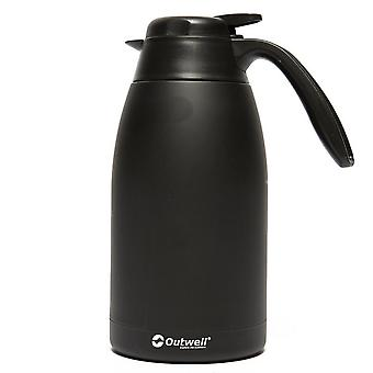 New Outwell 1.2L Aden Vacuum Flask Hydration Black