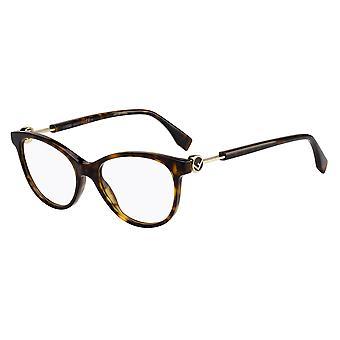 Fendi FF0347 086 Dark Havana Glasses