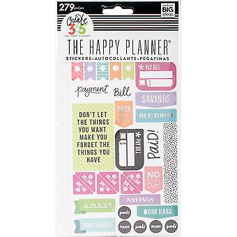 Happy Planner Stickers 5/Sheets -Get Paid - Classic