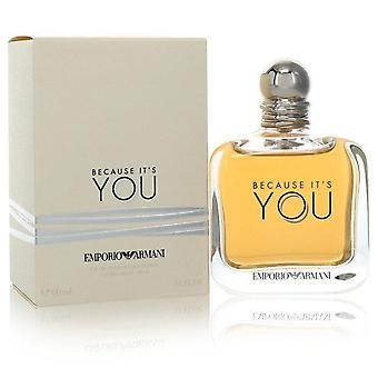 Because It's You Eau De Parfum Spray By Giorgio Armani 5.1 oz Eau De Parfum Spray