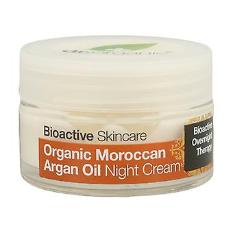 Organic Moroccan Argan Oil Night Cream 50 ml of cream