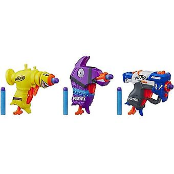 Nerf Micro Bach 3 Pack USA import