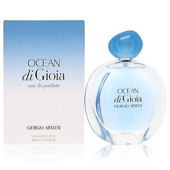 Ocean Di Gioia Eau De Parfum Spray Por Giorgio Armani 3.4 oz Eau De Parfum Spray