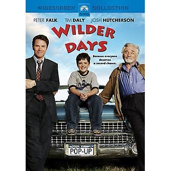 Wilder Days [DVD] USA import